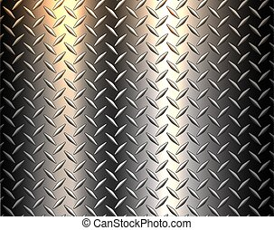Stainless steel texture metallic, diamond metal sheet ...