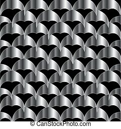 Stainless steel tile background