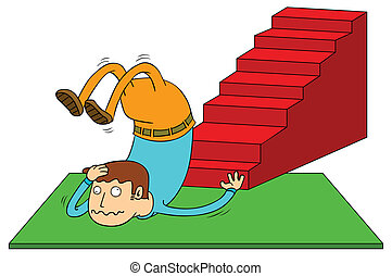 stair accident