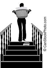 Stair danger