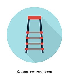 stair flat icon