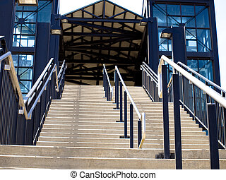 Stair - Outdoor stair.