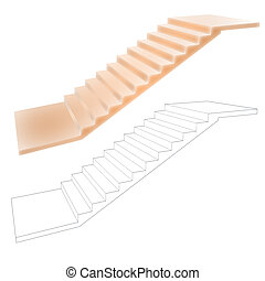 Stair - Use for your concepts painted stair or copy wire...