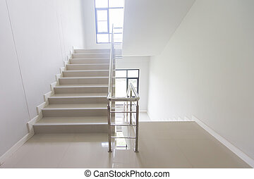staircase - emergency exit in hotel, close-up staircase, interior staircases, interior staircases hotel, Staircase in modern house, staircase in modern building