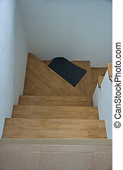 Staircase in a new house