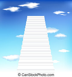 Staircase In Sky