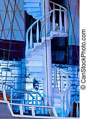 staircase, Las Vegas, Nevada, USA