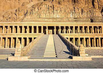Staircase of Hatshepsut Temple