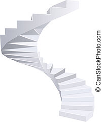 staircase., spirale