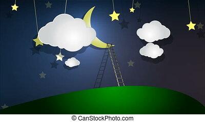 staircase to the moon - Staircase to the moon, art video...