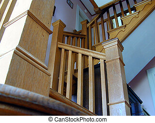 stairs - a stairway in a house