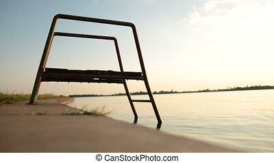 Stairs at the Lake