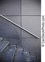 Stairs in the city