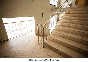 Stairs in the corridor
