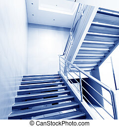 stairs in the modern house,Deluxe Clean.