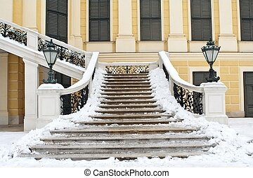 Stairs in Vienna palace