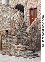 stairs of house