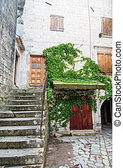 Stairs on Old Kotor Home