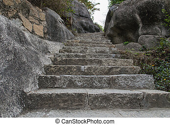 Stairs - Rock hewn staircase