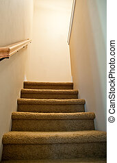 Stairs - Staircase inside of a home