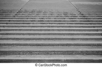 Stairs to the beach in Blackpool