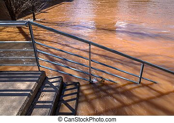 Stairs to the Flood