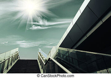 stairs under the sun