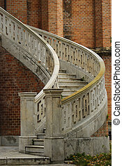 Stairs - Yard at the Ghica