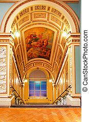 Stairway ceiling