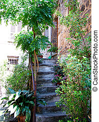Stairway in Morcote