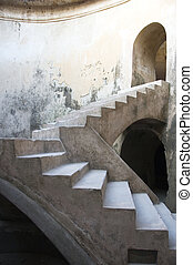 The Underground Mosque - Stairway of The Underground Mosque...