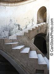 The Underground Mosque - Stairway of The Underground Mosque...