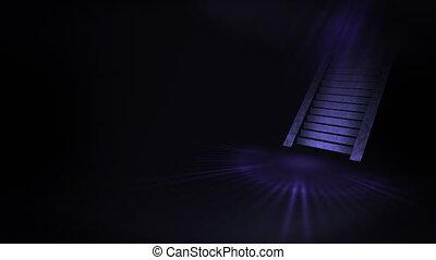 Stairway to a bright world, Light and Dark,
