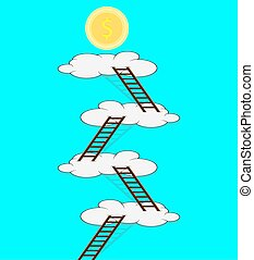 Stairway to the cloud for money