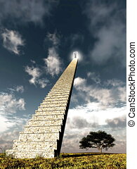 Stairway to the sky - A concept of journey to higher quality...