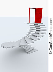 Stairway to the top