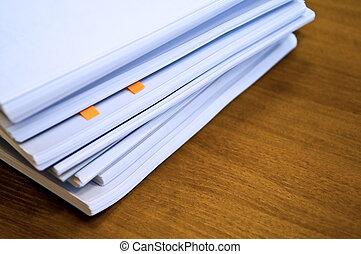 stak, i, dokumenter