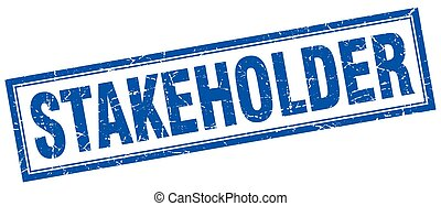 stakeholder square stamp