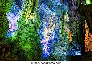 stalactite, formations, stalagmite