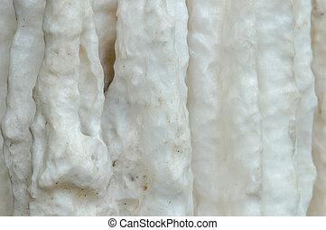 stalagmites