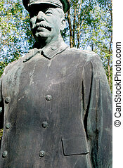 Stalin - Statue of one of the top twentieth century dictator...