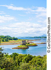 "Stalker castle ""the castle of Aaargh"", Scotland"