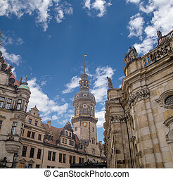 Stallhof in Dresden,Germany (Dresdner...