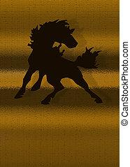 Stallion Graphic