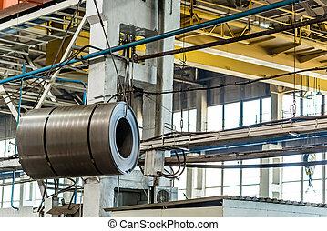 stalownia, przemysłowy, listek, ewidencja
