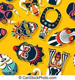 stam mask, etnisk