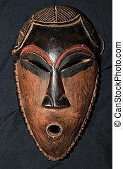 stamm, pende, maske, stammes-, -, afrikanisch
