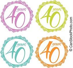 Stamp 40 years