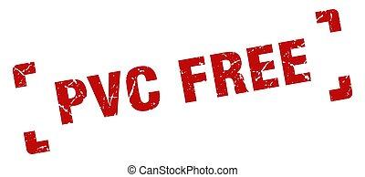stamp., aislado, plano de fondo, cuadrado, pvc, libre, ...