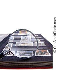 Stamp Album Isolated